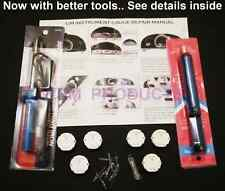 GM gauge instrument cluster REPAIR KIT 6 Stepper Motors, tools, 10 bulbs x27 168