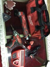 MILWAUKEE MULTI TOOL, C12MT. AND IMPACT DRIVER C12D KIT.