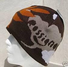 LADY ROSSIGNOL RUST/BROWN CLOUD/LEAF SKI BEANIE HAT