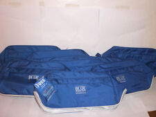 SET OF 8 BLUE SEDUCTION ANTONIO BANDERAS TRAVEL BAGS