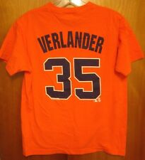 DETROIT TIGERS Justin Verlander youth med T shirt pitcher tee #35 baseball kids
