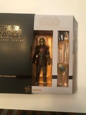 "Star Wars Black Series 6""  Mandalorian The Armorer Deluxe Hasbro Pulse Exclusive"