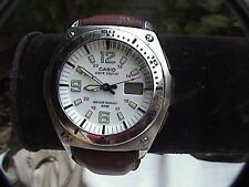 One week sale casio wave cepter atomic watch men's leather band 4303 wvq200ha