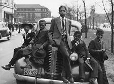 CHICAGO BOYS 1941 SUNDAY SUIT BEST B&W PHOTO ART POSTER