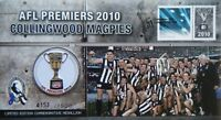 2010 Australia Collingwood Magpies, AFL Premiers, Limited Ed Medallion in PNC