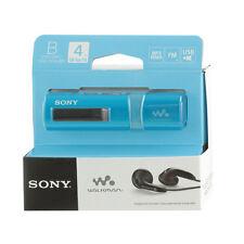 Sony NWZ-B183F Blue Walkman with Built-in USB FM Tuner Flash MP3 Player sealed