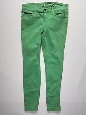 Level 99 Green Size 29 Women's Jegging Skinny Slim Leg Denim Jeans USA Made