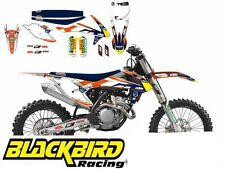 KTM SX SXF 2016 - 2018 FULL GRAPHIC KIT STICKERS AND SEAT COVER