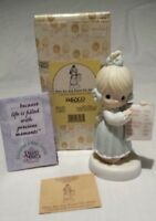 """PRECIOUS MOMENTS """"HAVE ANY ROOM FOR JESUS"""" #261130 WITH HEART MARK YR. 1996 NIB"""