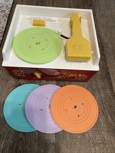 Fisherprice Music Box Record Player 2014 Model Working With 4 Disks 1697 Works