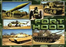 Fort Hood, Tanks Helicopter etc, Kileen Texas, US Military Post, TX --- Postcard