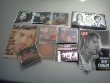 Kurt Cobain Nirvana CD Rio Mexico Box & Best of In utero sessions Bleach Books