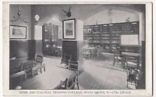 London; Wood Green, Home & Colonial College, The Library PPC, Unposted