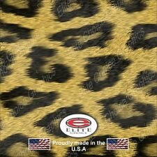 "Leopard Print CAMO DECAL 3M WRAP VINYL 52""x15"" TRUCK PRINT REAL CAMOUFLAGE"