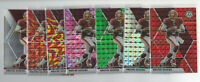 7 count lot 2020 mosaic Dwayne Haskins Color Prizms Green, Pink, Silver, Red