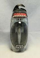 Star Wars Titanium Series Die Cast Naboo Royal Starship Vehicle - Hasbro 2006