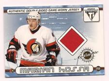 2002 Titanium Dual Jersey Marion Hossa Senators/Jiri Dopita Flyers