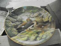 THE GADWALL Decorative PLATE By Bart Jerner DUCKS 1988 with Box and COA No.7698D