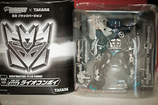 new opened Takara Transformers Robotmasters Robot Masters Black Lio Convoy