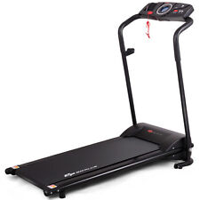1HP Goplus Electric Treadmill Folding Motorized Power Running Fitness Machine