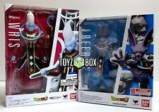 """In STOCK S.H. Figuarts Dragoball Z Super """"Whis + Beerus"""" Action Figure"""