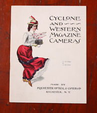 ROCHESTER OPTICAL & CAMERA CYCLONE/WESTERN CAMERAS BROCHURE/cks/215821