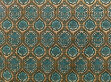 "Chenille Upholstery Marina Morocco Damask Drapery home fabric by yard 57"" Wide"