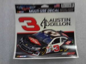"Austin Dillon #3 NASCAR DOW RCR Richard Childress Racing 5.5""x4.5"" sticker NEW"