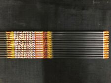 Black Eagle Spartan Dozen Shafts-300 Spine-.001 +/-  cut to 27.5 inches
