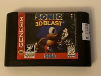 🔥 SEGA GENESIS - SONIC 3D BLAST - 100% WORKING - Super Fun Game 🔥