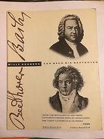 """""""Von Bach bis Beethoven"""" Band 1"""