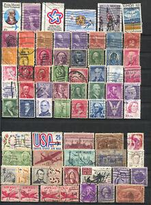 Lot de timbres anciens des USA