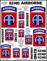 11 US Army 82nd Airborne Decal Stickers. Laminated for Durability
