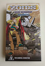 VHS ZOIDS NEW CENTURY VOLUME 2.3 NEW AND SEALED IN SHRINK WRAP MANGA PACIFIC