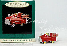 1996 Hallmark Murray Fire Truck Kiddie Car Classics Ornament Peddle #2 in Series