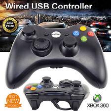 New USB Xbox 360 Controller Wired Joypad Joystick Black For Xbox360 – UK