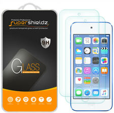 2X Supershieldz for Apple iPod Touch 6 6th Tempered Glass Screen Protector Saver