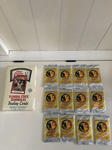12 PACKS Florida State Seminoles FSU Trading Cards1st First Edition
