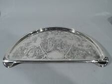 Cartier Tray - 1679 Kerr - Baby Highchair High Chair - American Sterling Silver