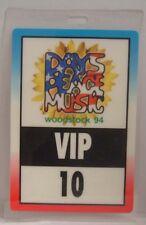 Woodstock 1994 - Bob Dylan / Metallica / Green Day Original Concert Laminat Pass