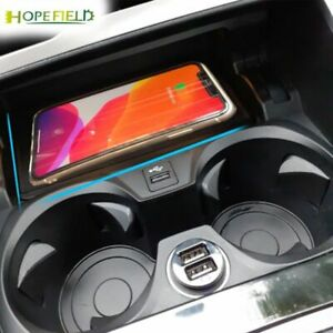 10W qi car wireless charger for BMW 3 Series G20 G28 2019 2020 cordless charging