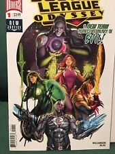JUSTICE LEAGUE ODYSSEY # 1-3 SIGNED By Joshua Williamson DC 2018