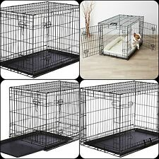 Extra Large Dog Crate Kennel Pet Cage House Metal Playpen Tray XL FREE SHIPPING