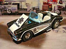 1958 CHEVY CORVETTE LAS VEGAS POLICE CAR LIMITED EDITION HOT ROD 1/64 HW 58