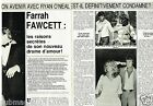 Coupure de Presse Clipping 1982 (2 pages) Farrah Fawcett