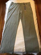 New Travis Mathew Black Pants size 36 Gray travismathew golf TM light weight