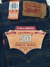 Levi's Men's 501 Original Fit Jeans Straight Leg  00501-2485 2-WAY STRETCH 36-30