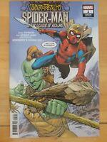 ⭐️ SPIDER-MAN & LEAGUE of REALMS #2b War of Realms (2019 MARVEL Comics) VF/NM