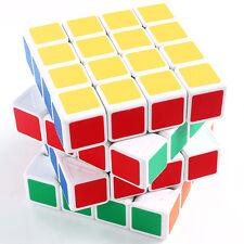 4X4X4 Professional World Record Race White Edge Magic Puzzle Speed Rubik's Cube