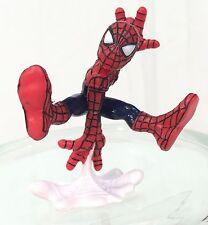 Marvel Super Hero Squad Spider-Man Jumping White Web Webbing